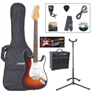 Encore E6 Electric Guitar Pack - Sunburst