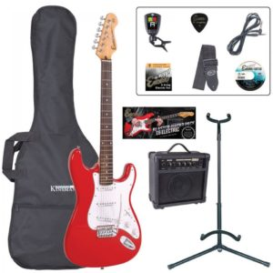 Encore E6 Electric Guitar Pack - Red