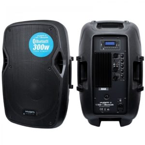 "Kam 300w 10"" Active Speaker w/ Bluetooth"