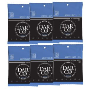 Darco by Martin Phosphor Bronze Acoustic Guitar Strings - 12-54 6pk