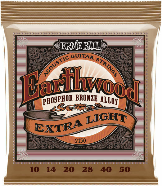 Ernie Ball Acoustic Extra Slinky Guitar Strings 10-50