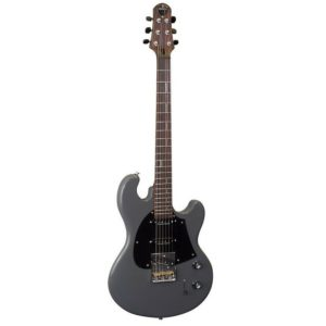 Shop Display - Shergold Masquerader SM03 Solid Battleship Grey Single Coil Electric Guitar - SM03SDGY