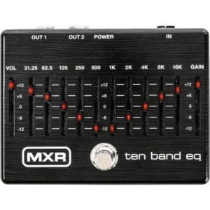 Jim Dunlop MXR 10 Band EQ Limited Edition Black