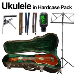 Brunswick + TGI Ukulele Pack inc Hard Case