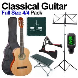 Classical Guitar 4/4 Beginners Pack