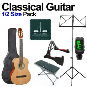 Classical Guitar 1/2 Size Beginners Pack for Kids