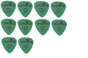 Chord POM Guitar Plectrums 1.00mm x 10 - 174.909