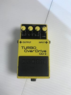 Used Boss OD-2 Turbo Overdrive Pedal