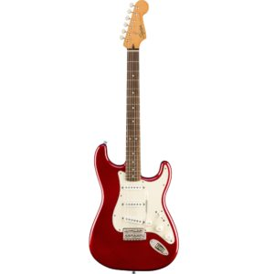 Squier Classic Vibe 60's Laurel Fingerboard Stratocaster - Candy Apple Red
