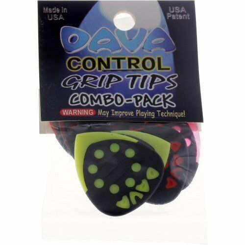 Dava Control Tips Combo-Pack six Picks