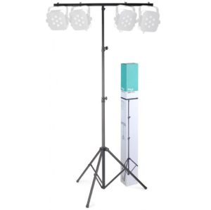 Shop Display Stagg One Tier T Bar Lighting Stand - Black